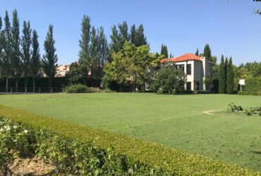 Tortugas Country Club, sobre cancha de golf